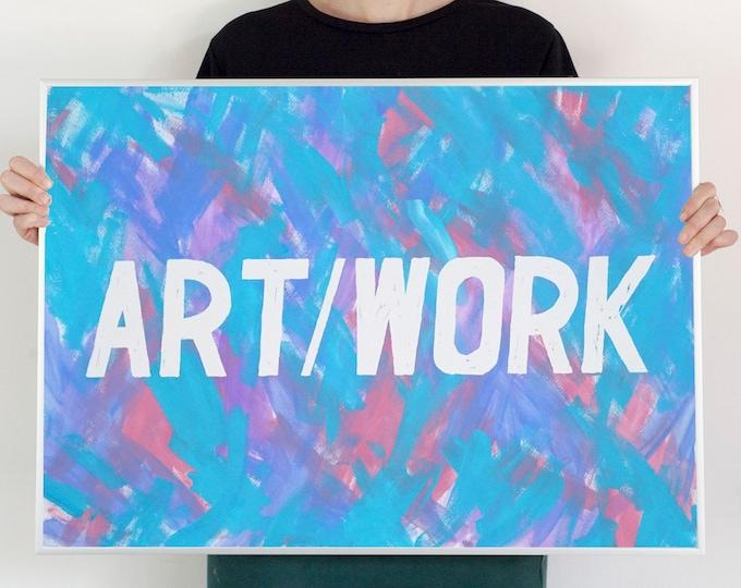 ART-WORK / Acrylic on Paper / 2021