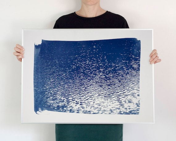 Blue Lake Ripples, 50x70cm (Limited Edition)