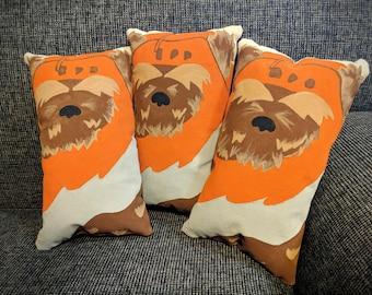 Ewok Mini Pillow, Star Wars, Nerdy Geek Home Decor