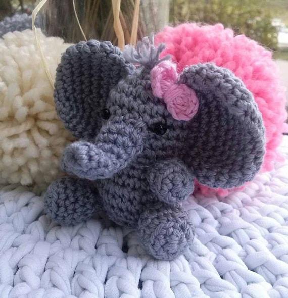 Amigurumi for Beginners Amigurumi Elephant Keychain Kuak Handmade ... | 590x570