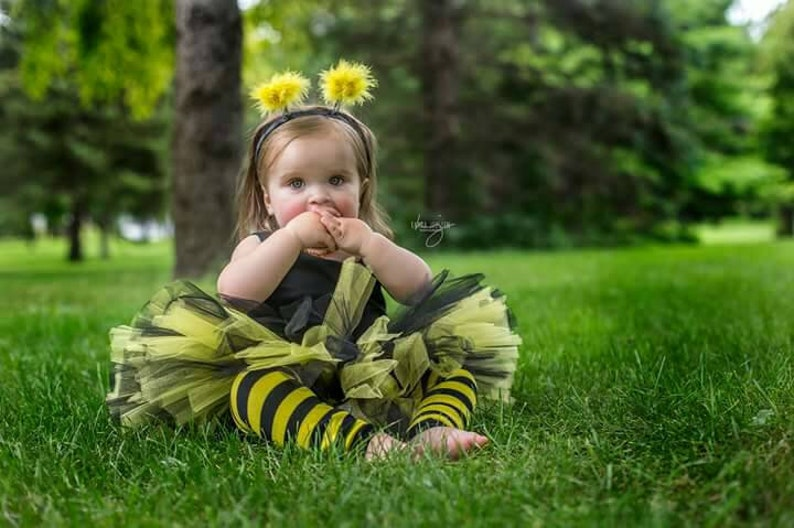 Bee Birthday Tutu 1st Birthday Outfit Honey Bee Black and Yellow Tutu Skirt Bumble Bee Tutu Queen Bee Bee Costume Skirt 1st Bee Day