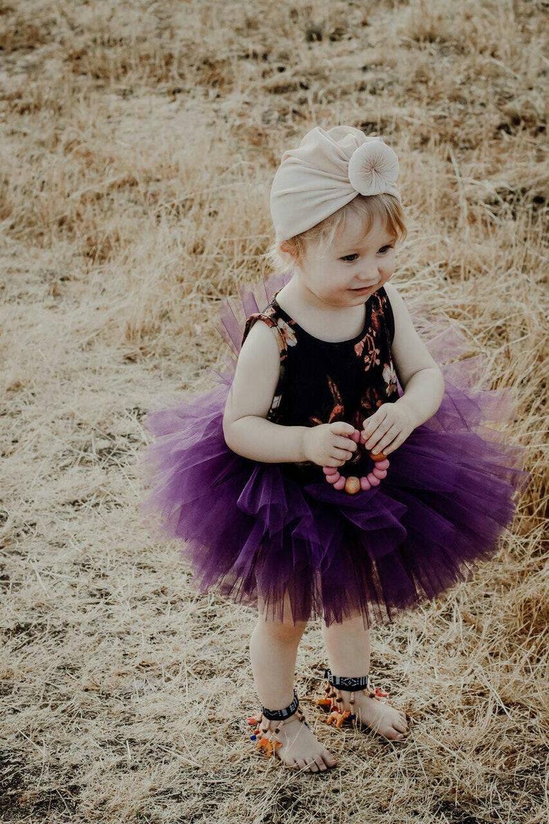 Baby Shower Gift Purple Tutu Skirt Dark Purple Baby Skirt Purple Birthday Outfit Dress Up Skirt 1st Birthday Outfit Cake Smash Tutu