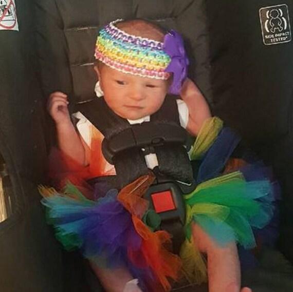 Arc en ciel Tutu jupe bébé arc en ciel, nouveau-né Tutu, tenue de prendre la maison, après la tempête, Tutu lumineux coloré Tutu, aime victoires, fierté jupe