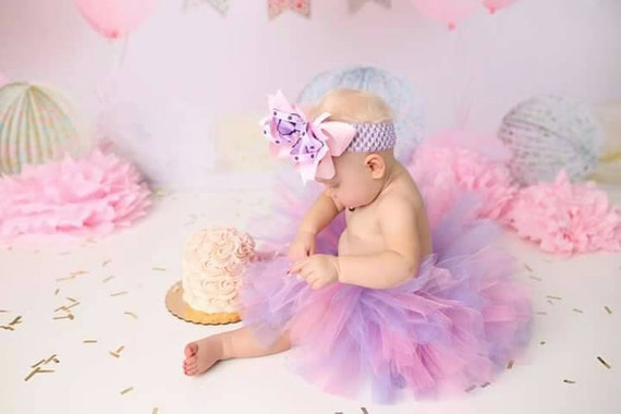 Tremendous Pink And Puple Tutu Birthday Tutu Cake Smash Photo Prop Etsy Personalised Birthday Cards Akebfashionlily Jamesorg