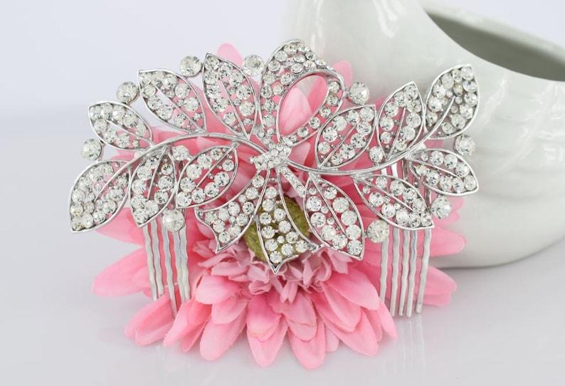 Bridal Comb Crystal Wedding Accessory Crystal Comb Sparkle hair comb Bridal Rhinestone Comb Wedding Hair Comb Bridal Headpiece