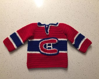 33a663b2db8d Montreal canadiens baby   Etsy