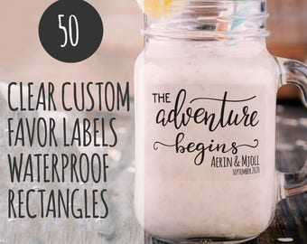 Mason jar labels | Etsy