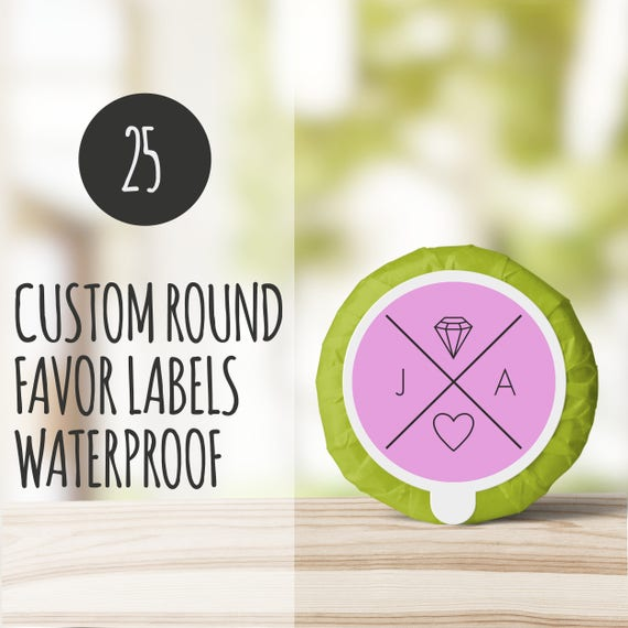 Custom Prodcut Stickers 25 Printed Labels