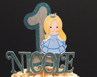 Cinderella Inspired Cake Topper