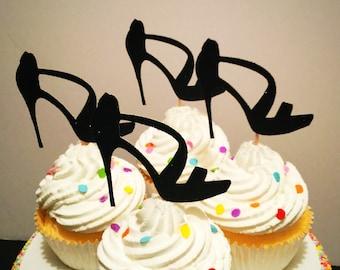 High Heel Cupcake Toppers