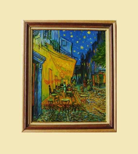 Van Gogh Arles Cafe Terrace Terraza Del Café De Arlés Por La Noche