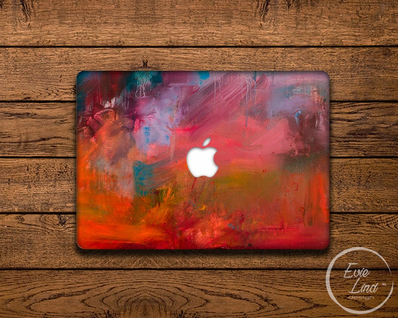 Abstract Macbook Decal / Macbook Sticker / Stickers macbook pro / Macbook  Air Sticker / Macbook Air skin / Laptop decal / EL026