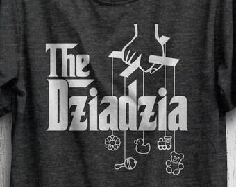 0a1bc3b7 Gift For Polish Grandpa, The Dziadzia! Poland Grandfather, Dziadek T-Shirt,  Dziadziu Father's Day Gift, Polish Baby Shower Gift