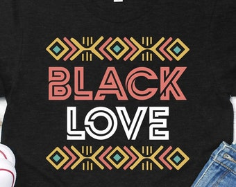 7ca7542e4 Gift For Black Couples, Black Love T-Shirt, Black Pride Gift For Black  History Month, Husband and Wife Gift, Black is Beautiful, Melanated
