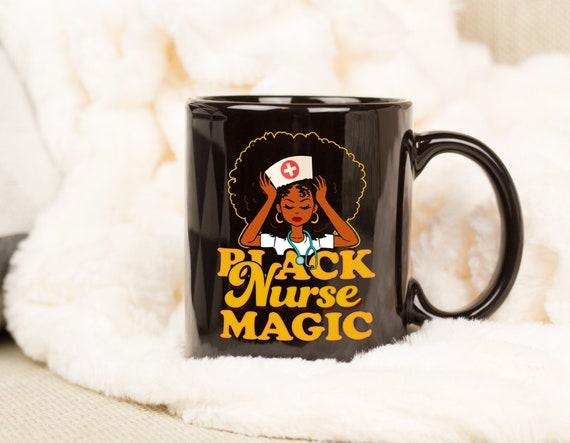 Black Nurse Magic Black Pride Gift Sweatshirt