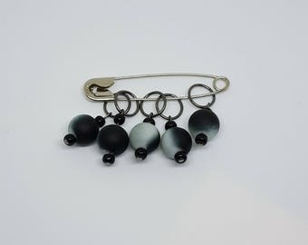 Ring Stitch Markers - Serenity