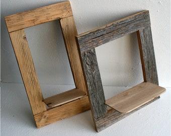 Merveilleux CUSTOM SIZING Open Frame, Barn Wood Mirror Frame, Chalkboard Frame, Wedding  Display, Large Frame, Open Gallery Frame, Rectangle Frames