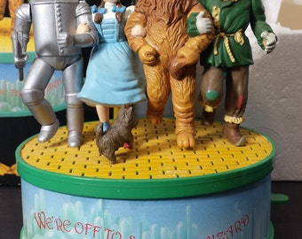 Enesco The Wizard of Oz 50th Anniversary Collection Music Box Yellow Brick Road