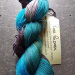 Hand dyed sock yarn 100g Ross Poldark