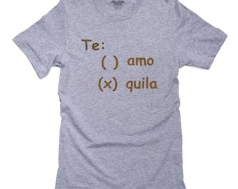 529e15322 Te Amo or Tequila - Hilarious Spring Break Design T-Shirt, Pillow, Frame  and Towel