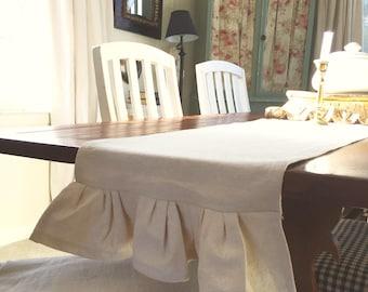 Farmhouse table runner