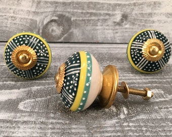 Ceramic Knobs, Drawer Knob, Cabinet Pulls, Knobs And Pulls, Furniture Hardware  Knobs,