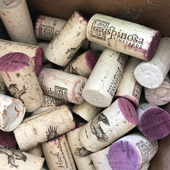 Used Recycled Wine Corks for Crafts 100 100/% Natural Super Fast Shipping!