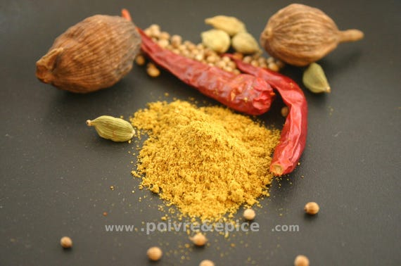 GARAM MASALA, mixted spice