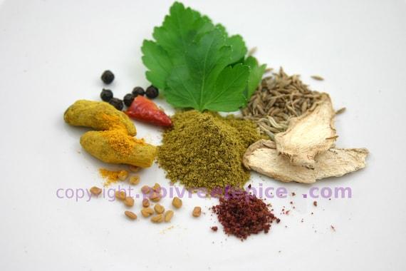 RAS EL HANOUT, green, spice