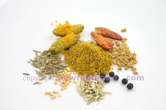 RAS EL HANOUT yellow, powder