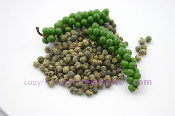 GREEN PEPPERCORN, whole, dehydrated