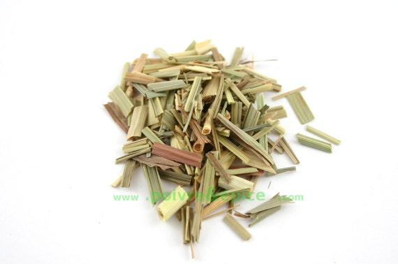 LEMONGRASS, leaf, flake