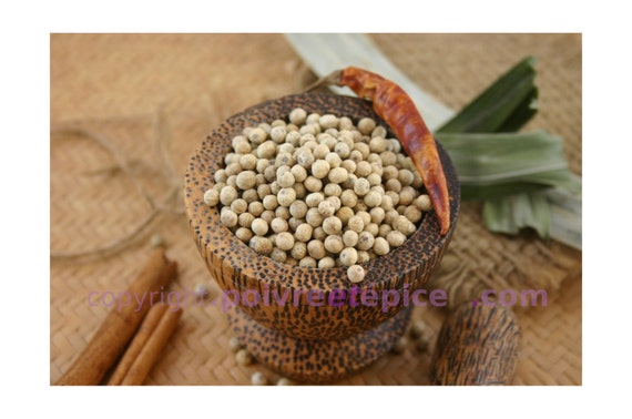 White KAMPOT peppercorn
