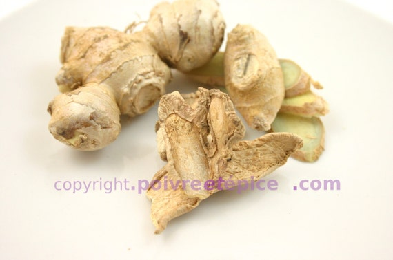 GINGER ROOT, slice