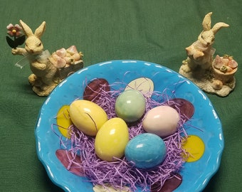 Blue Easter Egg Bowl