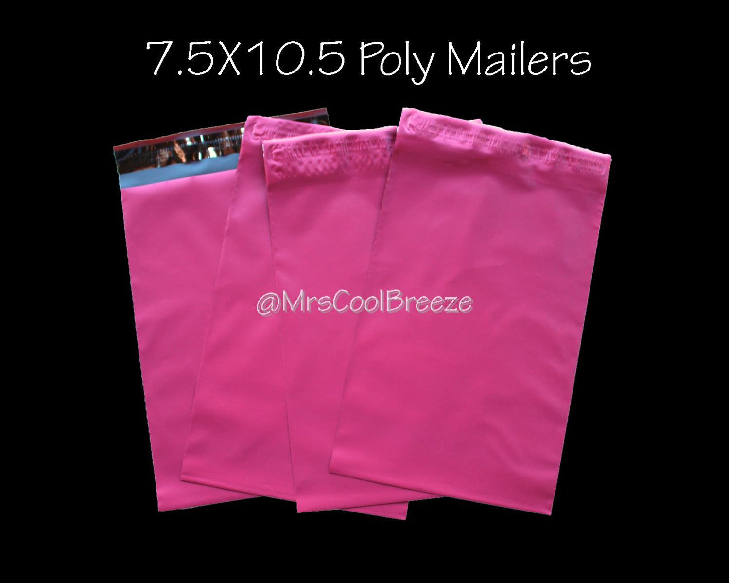 100 6x9 /& 50 7.5x10.5 Poly Mailers Envelopes Bags Plastic Shipping Bag