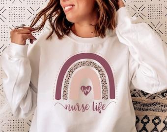 Nurse Sweatshirt Etsy