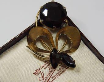 Vintage, Paste Flower Brooch (2860)
