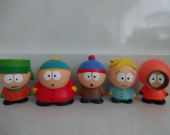 Mister A Gift SOUTH PARK cake toppers 5 plastic figures