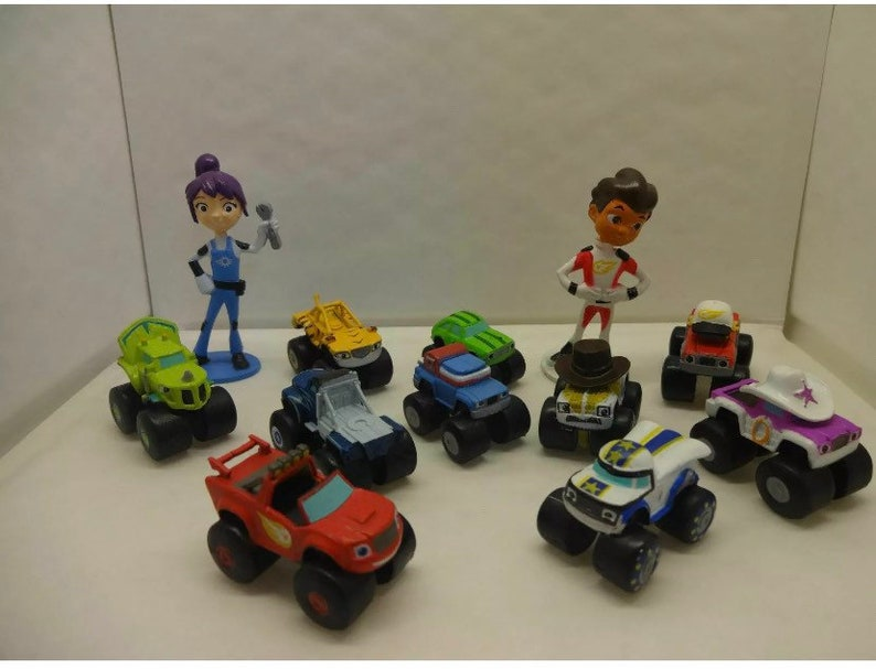 Mister A Gift Nick Jr Blaze And The Monster Machines set of 12 image 0