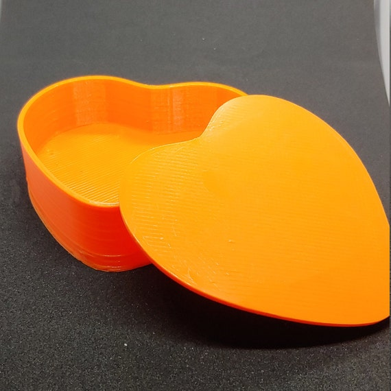 Heart Shaped Jewelry  Candy Box 3D Printed
