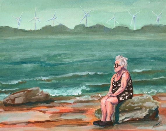 Lady of the Lake Fine Art Print