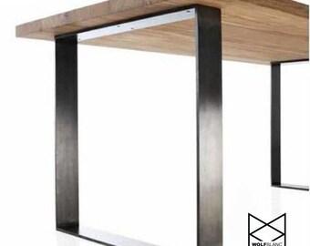 Meraki / 80mm x 20mm Metal Table Legs (Set of 2)