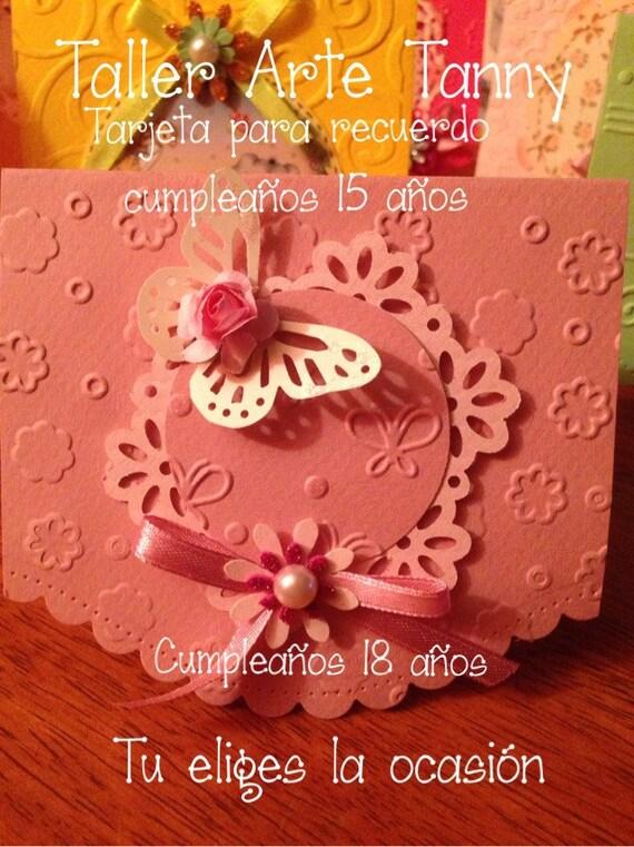 Tarjetas Invitación O Recuerdo Bautizo Cumpleaños Y Otros Eventos