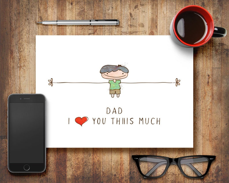 Fathers Day Greeting Card Gift for Him Greeting Card Gift for image 0