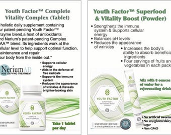 Youth Factor Products 2-Sided