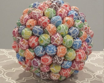 candy centerpiece multi colored lollipops communion baptism birthday wedding bridal shower baby shower candy table mitzvah