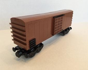 Lego Train Boxcar