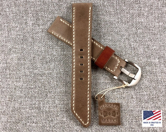 The Oconee - Horween Taupe : All American Series