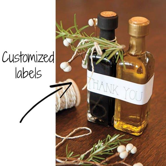 100 Olive Oil & Balsamic Favor Sets Olive and Vinegar Favors | Etsy